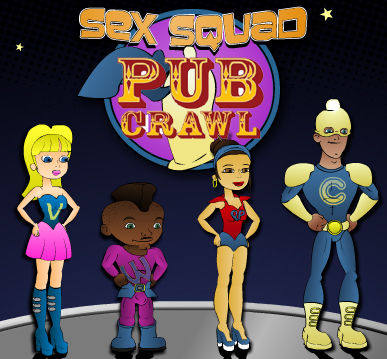 sex squad goes london pub hopping