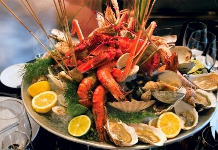 Seafood - fish and shellfish play an important role in Spanish cuisine