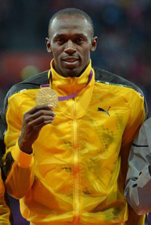 Usain Bolt Gets Gold