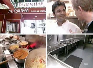 Chef Vikas on Kitchen Nightmares