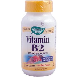 Vitamin B2 supplement capsules