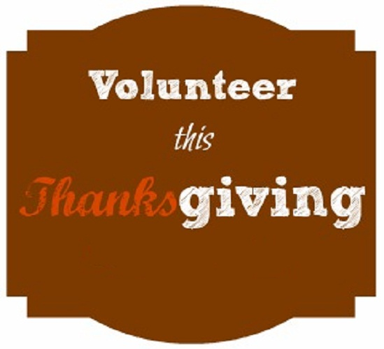 Thanksgiving volunteers