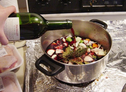 Wine for cooking