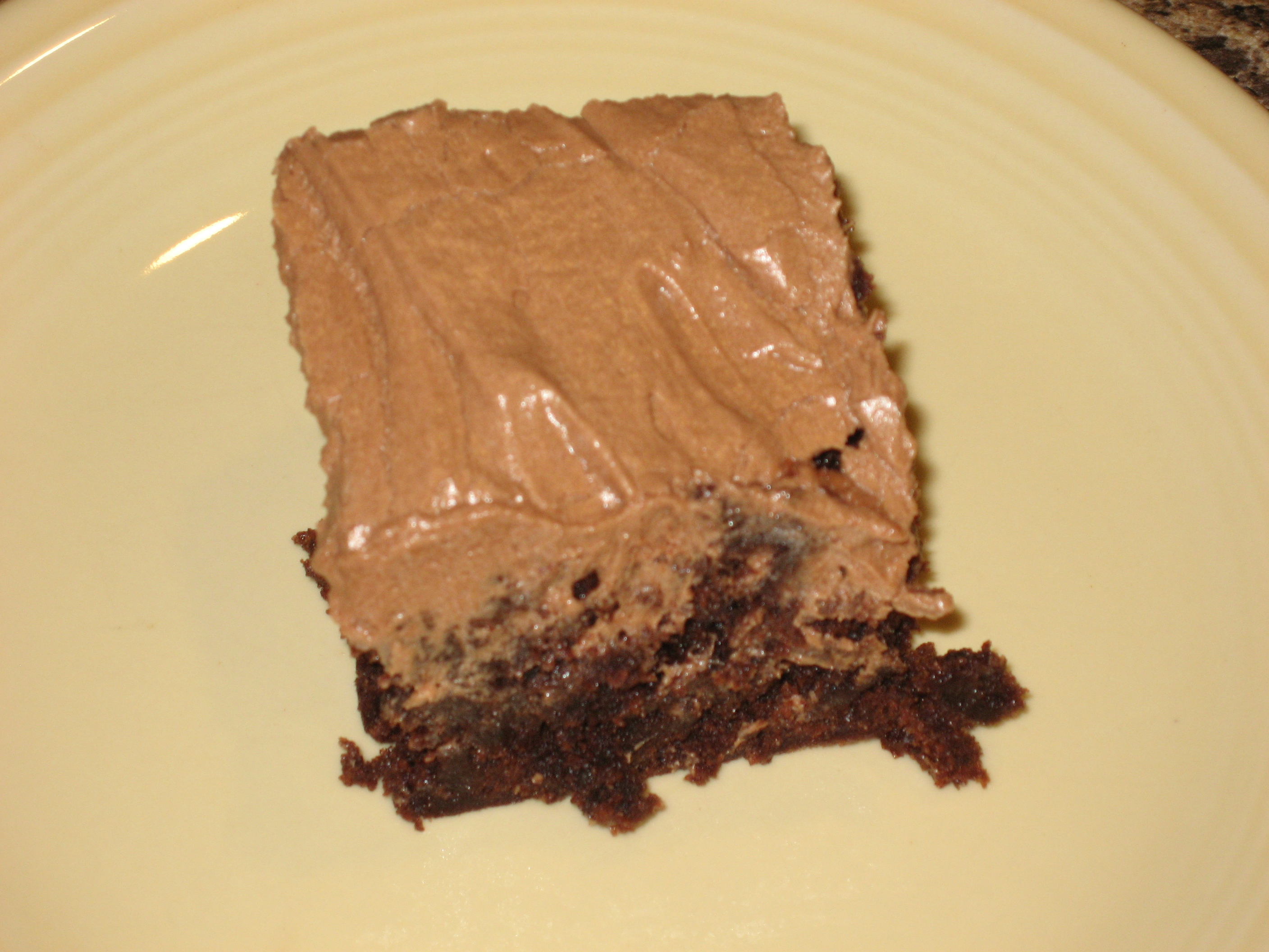 Brownies And Mocha Frosting picture