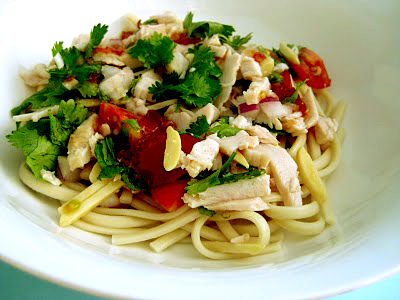 Asian Noodle Turkey Salad picture