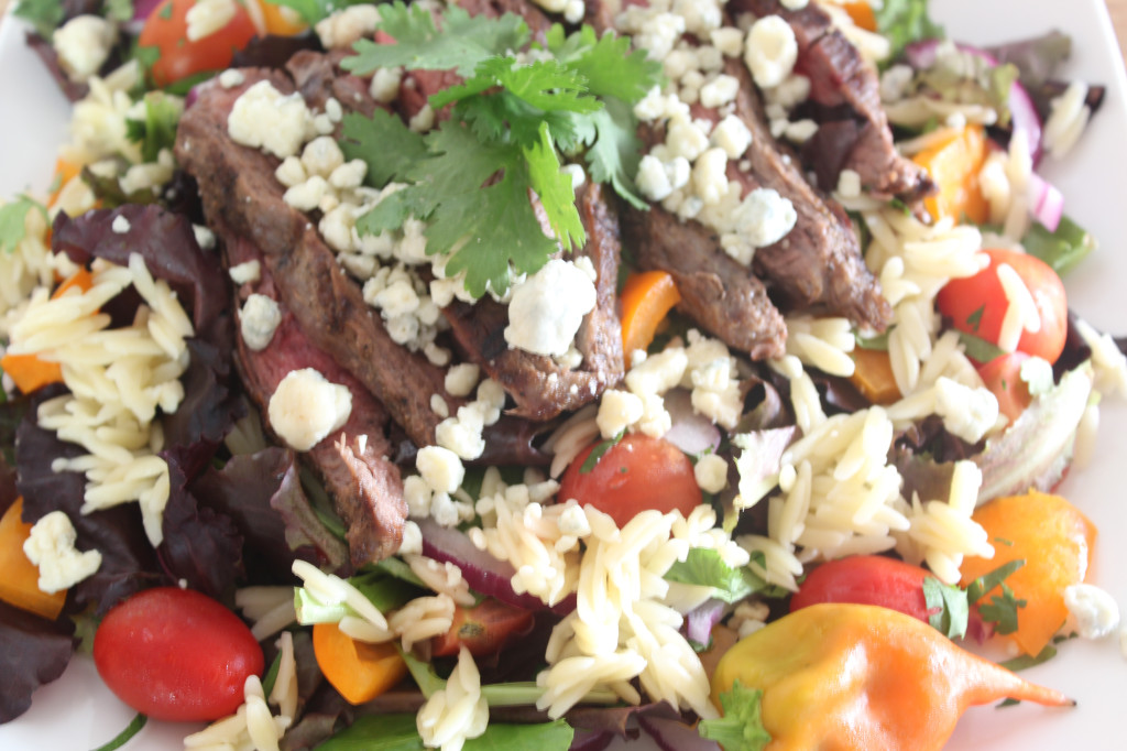 Cilantro Orzo and Beef picture