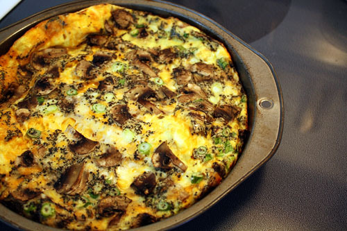 Cheese And Bacon Frittata picture