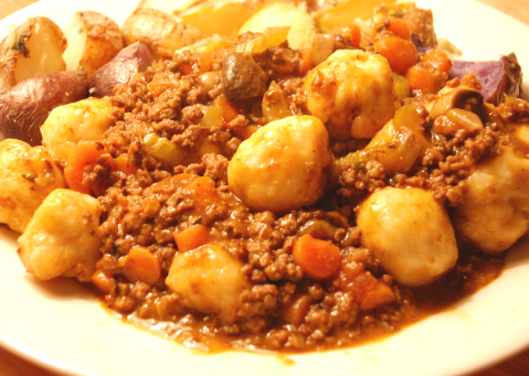 Irish Beef With Dumplings picture