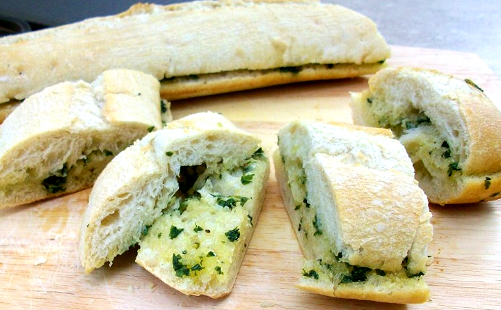 Italian Bread With Olive Oil And Herbs picture
