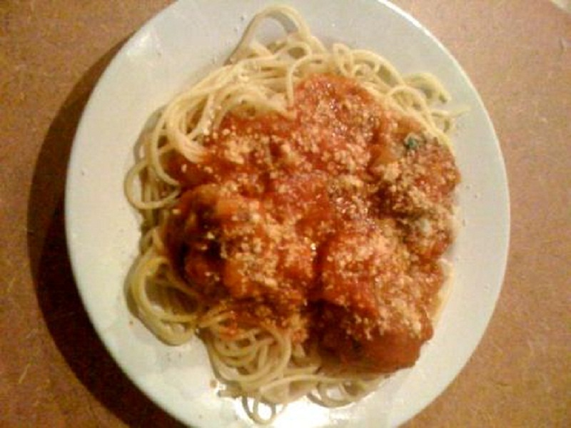 Italian Meat Ball Dinner picture
