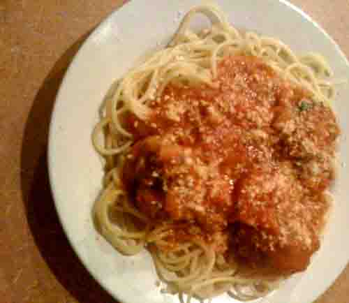 Italian Spaghetti and Meatballs picture