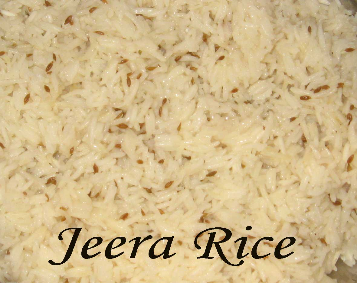Jeera Rice- a delicious rice preparation picture