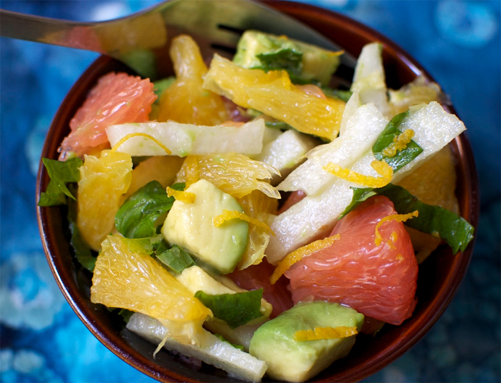 Jicama Fruit Salad picture