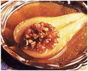 Butter-Baked Pears With Fruit And Nut Stuffing picture