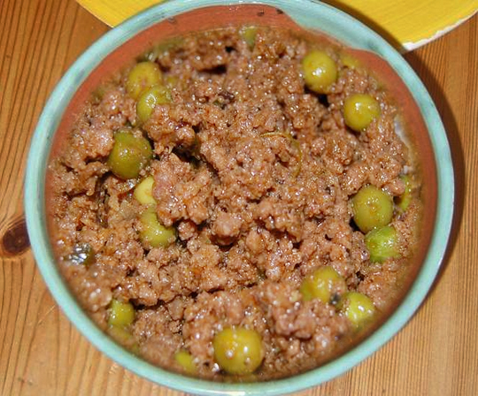 Keema Matar - Minced Beef And Green Peas Curry picture