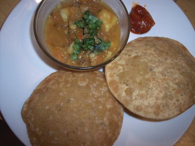 Rajasthani Spicy Dal-Stuffed Bread (Urad Dal Poori) picture