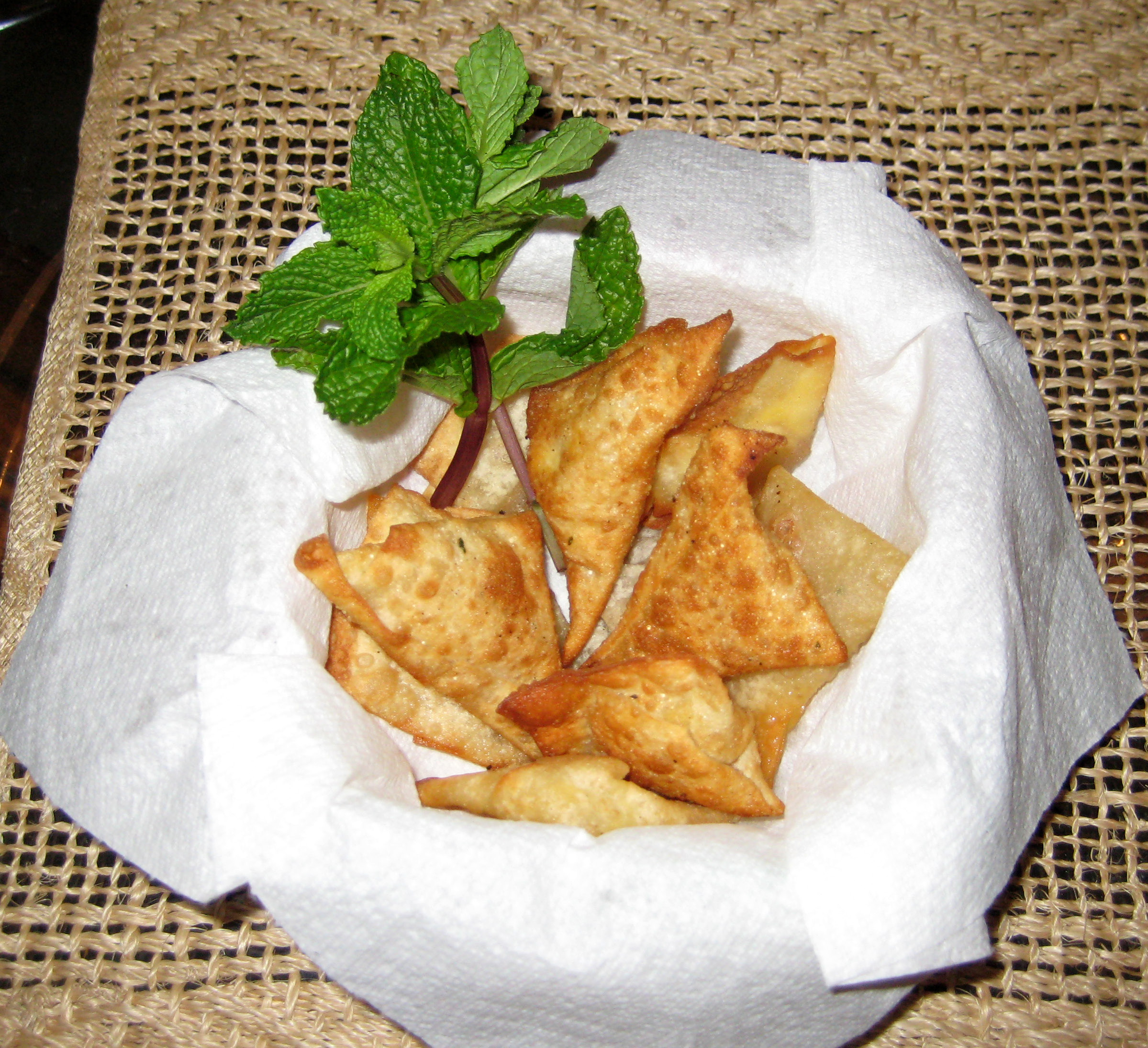 Wontons with egg stuffing by Chef Sonali picture