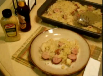 Polish Kielbasa Sauerkraut Photos