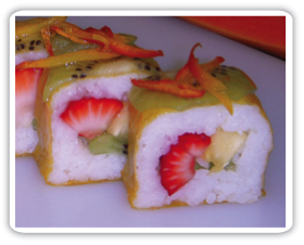 Kiwi Dragon Roll picture
