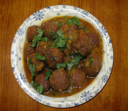 Kofta ( Indian Meatballs ) picture