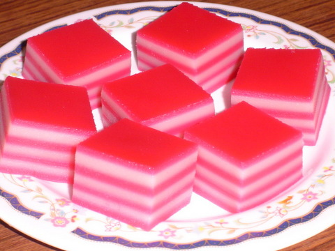 Kueh Lapis - Layered Dessert Snack picture