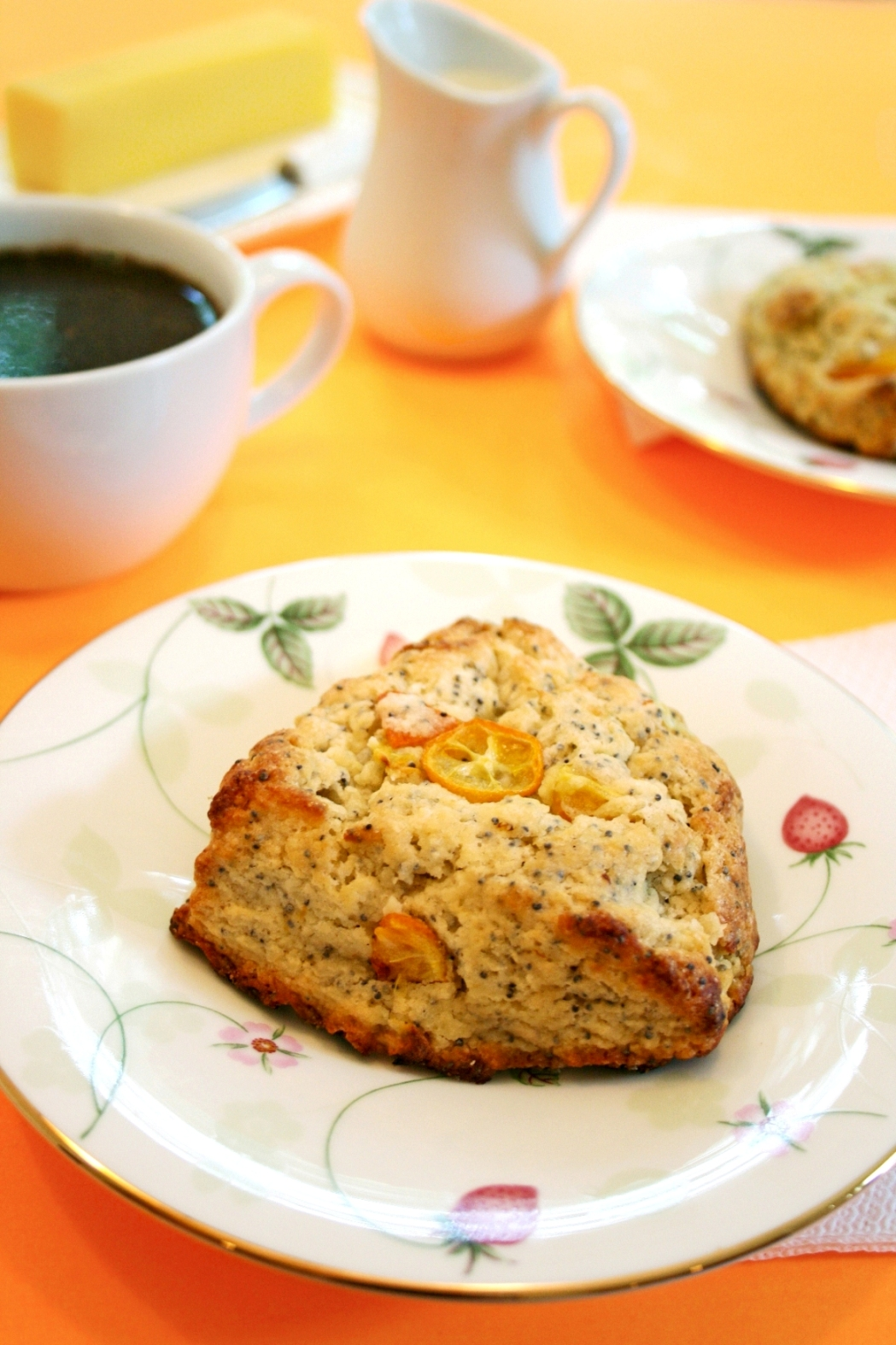 Kumquat Poppy Seed Scones picture
