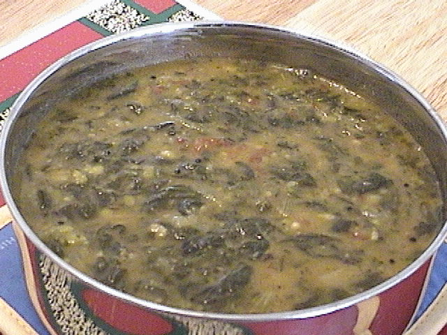 Spinach Kootu picture