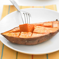 Roasted Sweet Potatoes with Orange picture