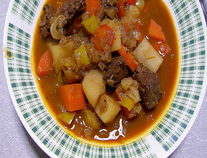 Lamb and Vegetable Soup picture