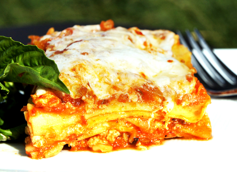Roasted Vegetable Lasagna    + Homemade Marinara Sauce picture