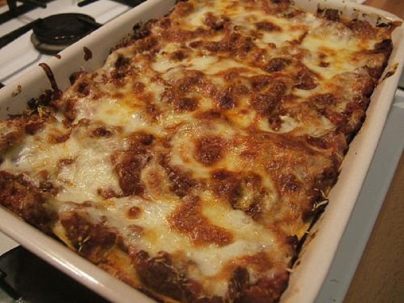 Lasagne with Bell Peppers, Eggplant and Zucchini picture