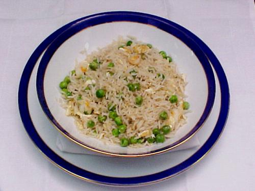 Leftover Rice and Peas picture