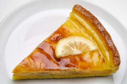 Zesty Lemon Custard Pie picture