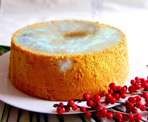 Lemon Chiffon Cake picture