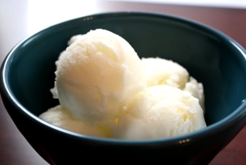 Ice Box Lemon Cream Sherbet picture