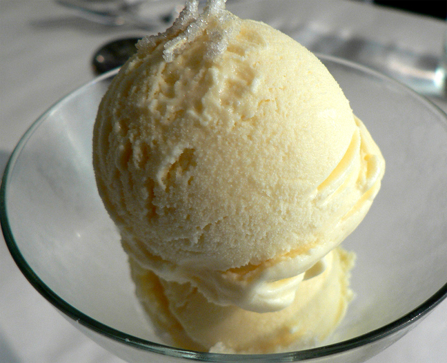 Lemon Ginger Ice Cream picture