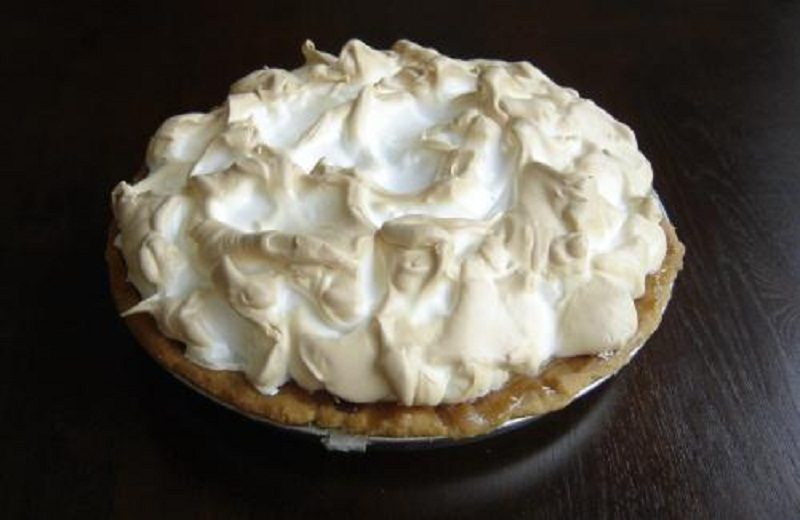 Lemon Meringue Pie Sweetened With Granulated Sugar picture