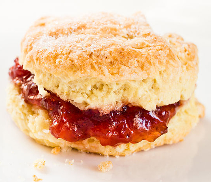 Scones With Marmalade picture