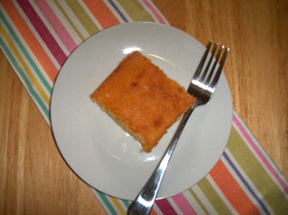 Lemon Sponge Squares picture