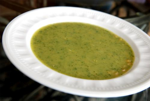 Lemony Spinach Soup picture