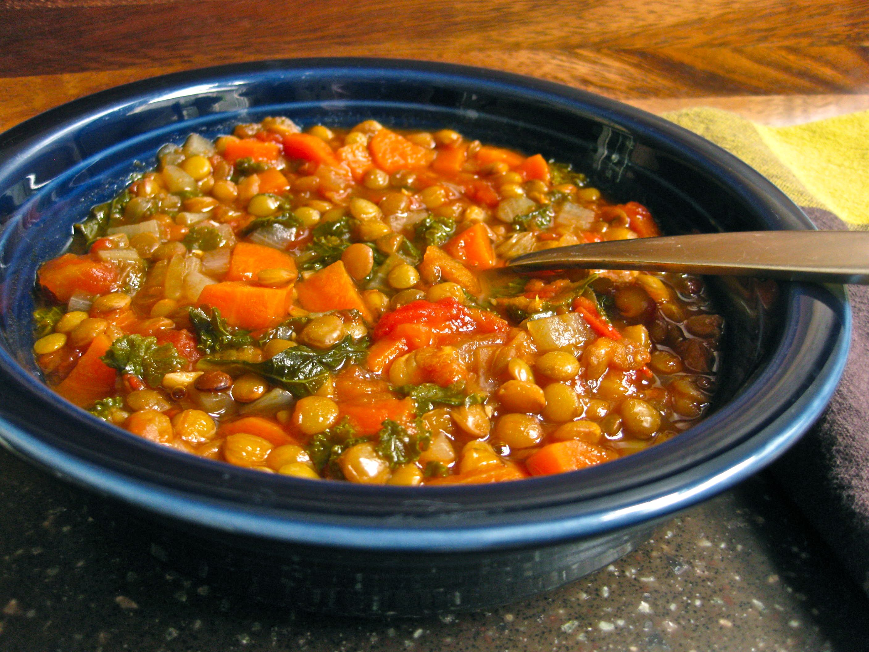 Lentil Vegetable Soup picture