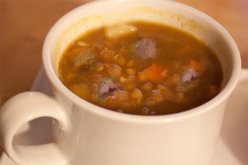 Lentil And Ham Soup picture