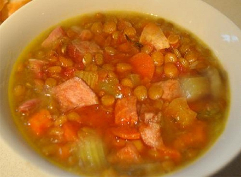 Lentil And Vegetable Soup picture