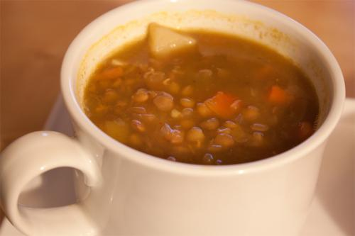 Lentil Soup with Ham picture