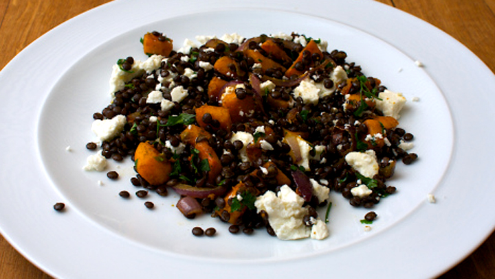 Lentils With Feta picture