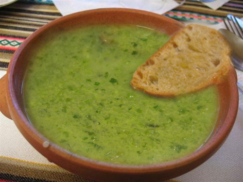 Lettuce Soup picture
