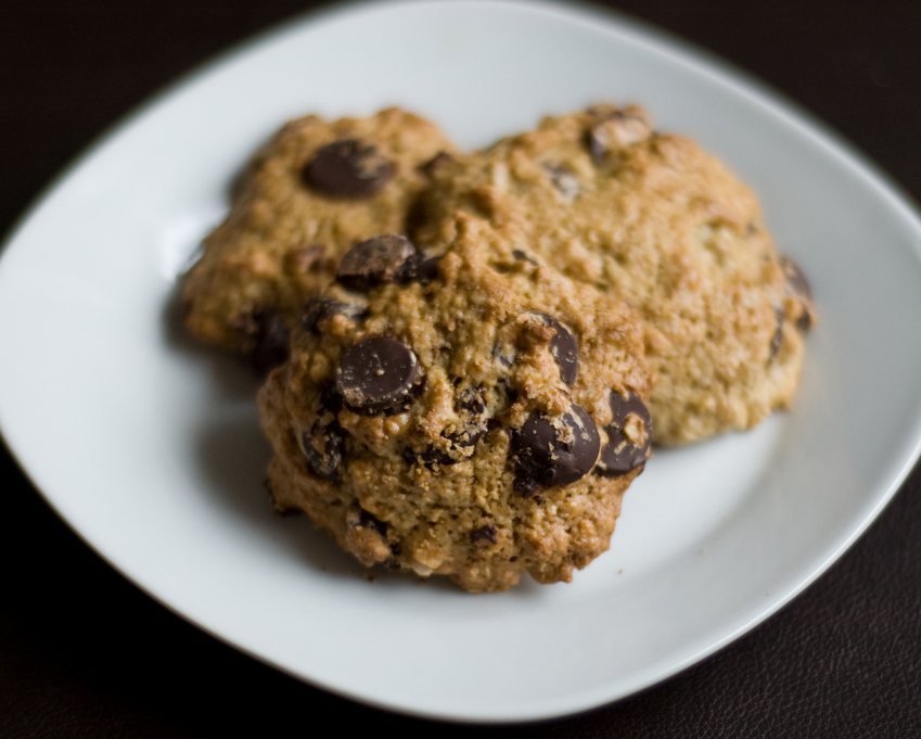 Light Chocolate Chip Cookies picture