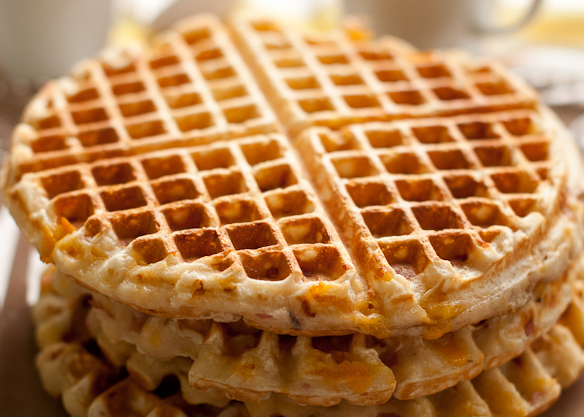Light 'N' Crispy Buttermilk Waffles picture
