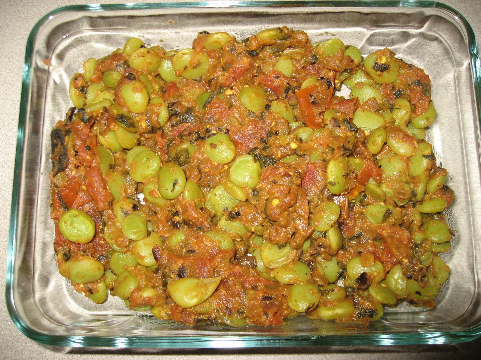 Lima Beans Curry picture