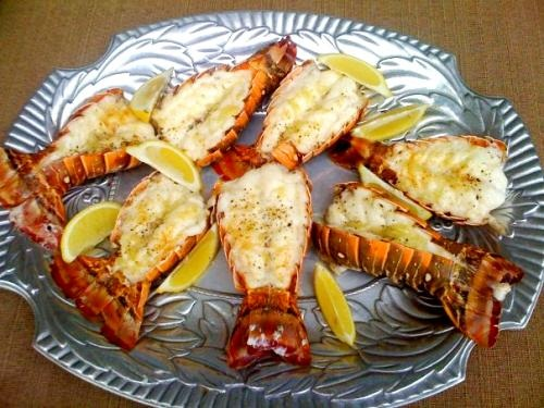 Lobster Tails or Sole with Macadamia Butter picture